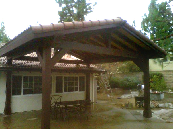 Detached Garage With Patio Ideas House Design And